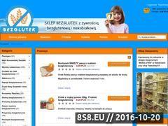 Miniaturka domeny www.sklepbezglutek.pl