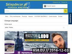 Miniaturka domeny www.sklepdecor.pl