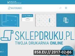 Miniaturka Druk wielkoformatowy i drukarnia cyfrowa online (sklepdruku.pl)