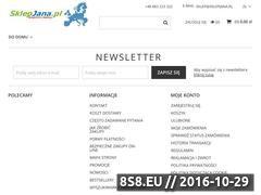 Miniaturka domeny www.sklepjana.pl