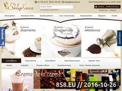 Miniaturka sklepkawa.pl (Sprzedaż kawy mielonej i ziarnistej)