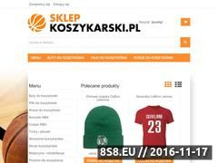 Miniaturka sklepkoszykarski.pl (Sklep koszykarski)
