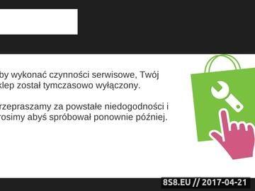 Zrzut strony Internetowy sklep medyczny Artykuły medyczne Portal medyczny