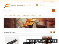 Miniaturka sklepmysliwski-lis.pl (Artykuły myśliwskie)