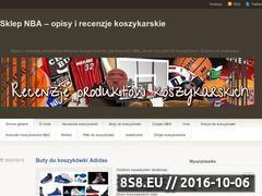 Miniaturka sklepnba.wordpress.com (Produkty do gry w koszykówkę)