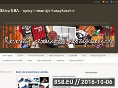 Miniaturka domeny sklepnba.wordpress.com