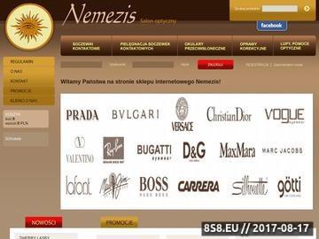Zrzut strony Okulary przeciwsłoneczne Carrera - Nemezis Lucyna Orzeł-Krupanek