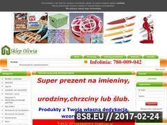 Miniaturka domeny www.sklepoliwia.pl
