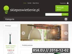 Miniaturka domeny www.skleposwietlenie.pl