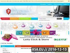 Miniaturka domeny skleppapirus.pl