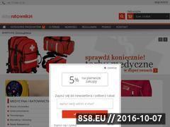 Miniaturka domeny www.sklepratownik24.pl