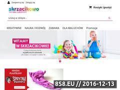 Miniaturka domeny www.skrzacikowo.pl