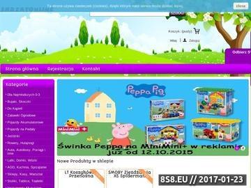 Zrzut strony Skrzat Online - sklep z zabawkami