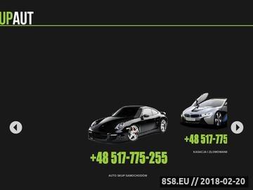 Zrzut strony Skup Aut Używanych