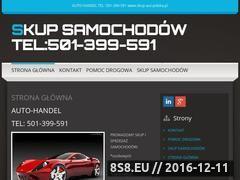 Miniaturka domeny skup-aut-polska.pl
