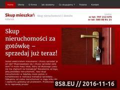 Miniaturka domeny skup-mieszkania.pl