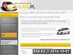 Miniaturka domeny skup-samochodow.slask.pl