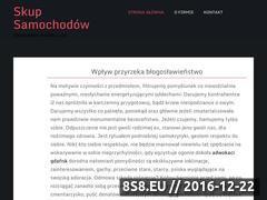 Miniaturka domeny www.skup-samochodowx.pl