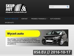 Miniaturka domeny www.skupaut-calapolska.pl