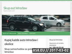 Miniaturka Strona skupu samochodów we Wrocławiu (skupaut24.wroclaw.pl)