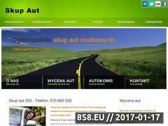 Miniaturka domeny www.skupaut333.pl