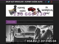 Miniaturka skupautek.wroclaw.pl (Skup aut Wrocław - skup samochodów)