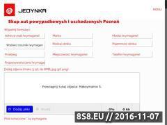 Miniaturka domeny www.skupautjedynka.pl