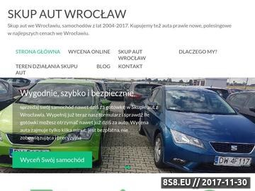 Zrzut strony Skup aut Wrocław