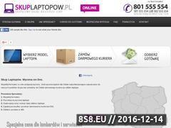Miniaturka domeny skuplaptopow.pl