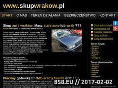 Miniaturka domeny skupwrakow.pl
