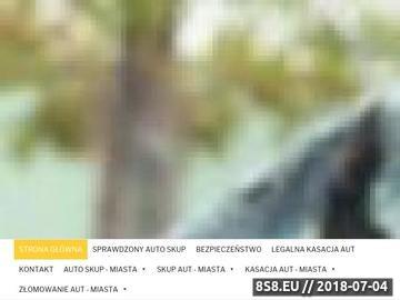 Zrzut strony Kasacja pojazdów Szczecin