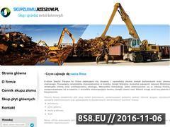 Miniaturka domeny www.skupzlomu.rzeszow.pl