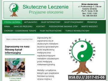 Zrzut strony Skuteczne metody leczenia i rehabilitacji - Sklep internetowy