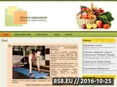 Miniaturka skuteczneodzywianie.pl (Dieta, porady dietetyczne)