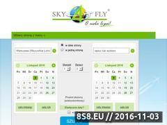 Miniaturka www.sky4fly.com.pl (Tanie loty)