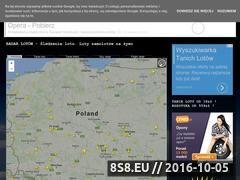 Miniaturka skyradar.pl (Śledzenie samolotów - loty na żywo, nasłuch)