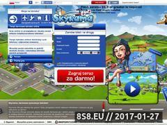 Miniaturka domeny www.skyrama.pl
