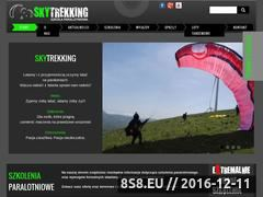 Miniaturka domeny www.skytrekking.pl