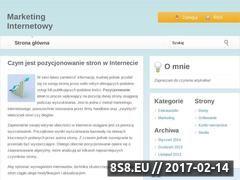 Miniaturka domeny www.slawgos.pl