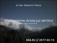 Miniaturka domeny slawomir-sikora.net