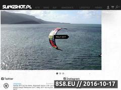 Miniaturka domeny www.slingshot.pl