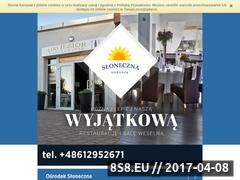 Miniaturka domeny www.sloneczna.sierakow.pl