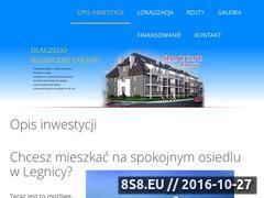 Miniaturka www.sloneczne-tarasy.net (Nieruchomości <strong>legnica</strong>)