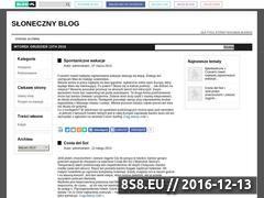 Miniaturka domeny sloneczny.blog.pl