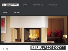 Miniaturka sloninka.pl (Wkłady kominkowe, obudowy kominkowe i marmur, granit)