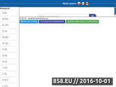 Miniaturka slownik-techniczny.eu (Niestandardowy słownik techniczny)