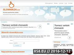 Miniaturka domeny www.slownik24.com