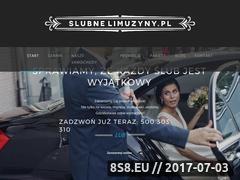 Miniaturka slubnelimuzyny.pl (Limuzyna - panieński Kraków)