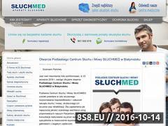 Miniaturka domeny www.sluchmed.pl