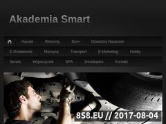 Miniaturka domeny www.smartakademia.com.pl